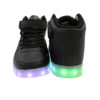 Galaxy LED Shoes Light Up USB Charging High Top Men/Women Sneakers (Black) 4