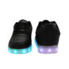 Galaxy LED Shoes Light Up USB Charging Low Top Men's Sneakers (Black) 4