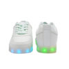 Galaxy LED Shoes Light Up USB Charging Low Top Men's Sneakers (White) 3