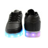 Galaxy LED Shoes Light Up USB Charging Low Top Pattern Adult Sneakers (Black) 4