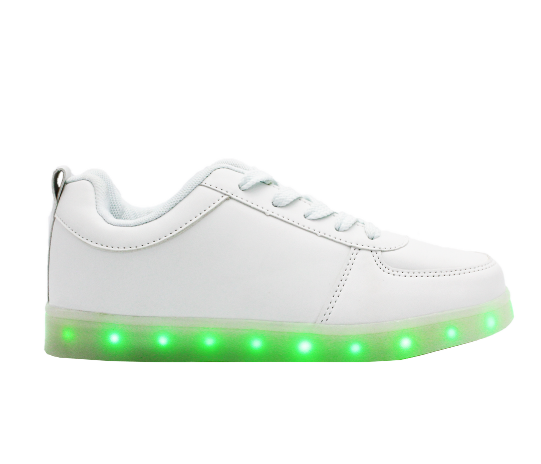 Girls High Top Led Light Up Shoes