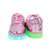 Galaxy LED Shoes Light Up USB Charging Low Top Kids Sneakers (Pink Glossy Fusion) 4