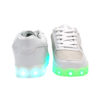 Galaxy LED Shoes Light Up USB Charging Low Top Kids Sneakers (White Glossy Fusion) 3