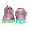 Galaxy LED Shoes Light Up USB Charging Low Top Men's Sneakers (Pink Glossy) 4