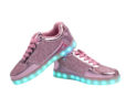 Galaxy LED Shoes Light Up USB Charging Low Top Women's Sneakers (Pink Glossy Fusion) 3